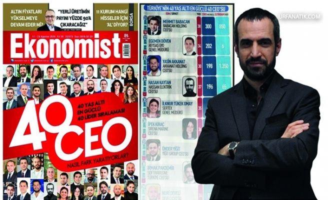 Türkiye'nin En Güçlü 40 Patronundan Biri Şanlıurfalı İş Adamı oldu