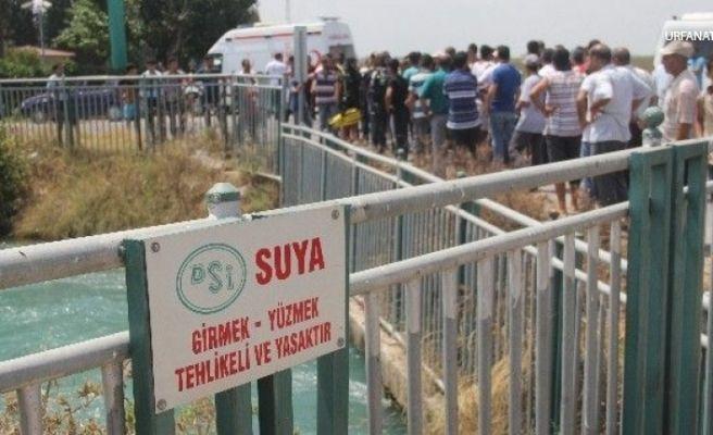 Urfa'da Serinlemek İçin Girdiği Sulama Kanalında Kayboldu