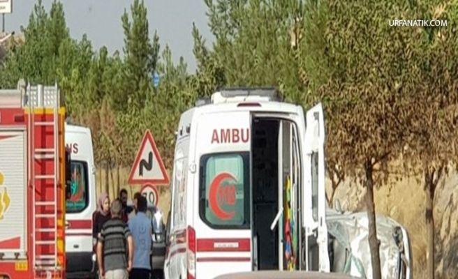 Organize Sanayi Yolunda Otomobil Takla Attı 2 Yaralı