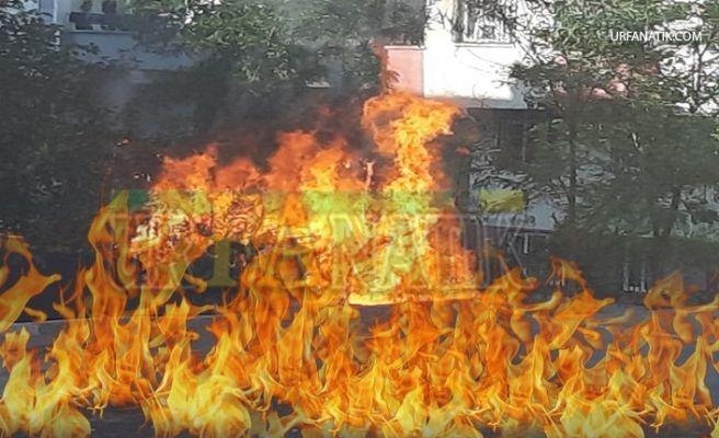 İlçede Yangın: Alevler Elektrik Tellerine Ulaştı!