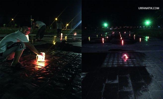 Viranşehir Rekreasyon Alanı Işık Saçıyor