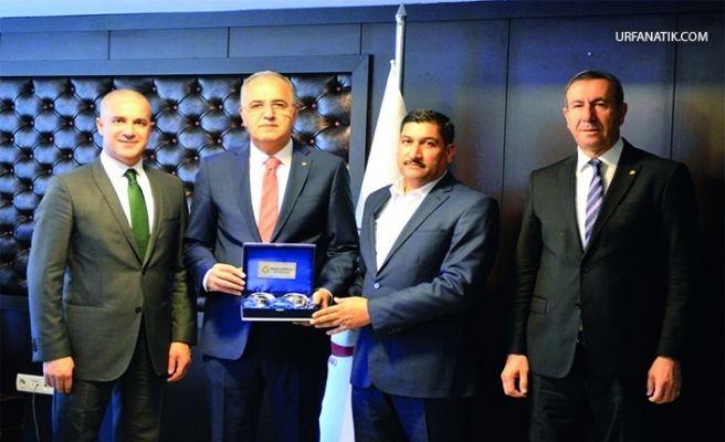 Haliliye Belediyespor Kulüp Başkanı Tatlı'dan Tvf Başkanı'na Ziyaret