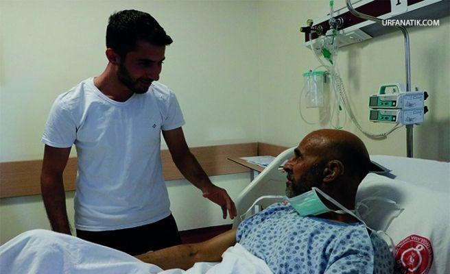 Urfa'daki ''Ciğerimsin'' Lafı Baba Oğulda Hayat Buldu
