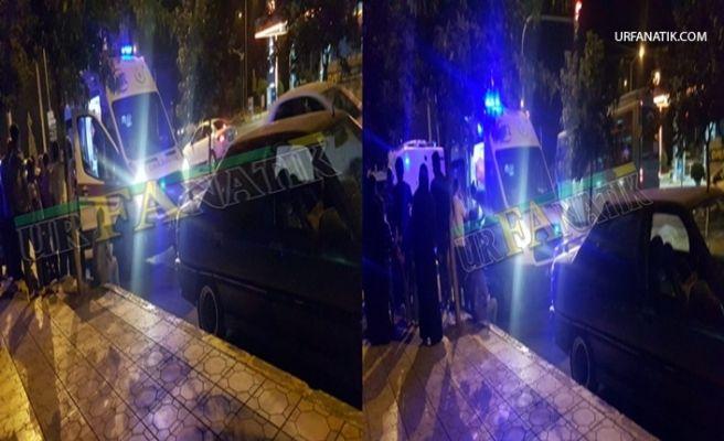 Urfa'da Otomobil İle Motosiklet Çarpıştı 3 Yaralı