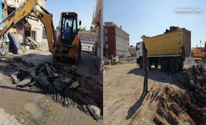 Viranşehir'de Okul Yolları Asfaltlanıyor