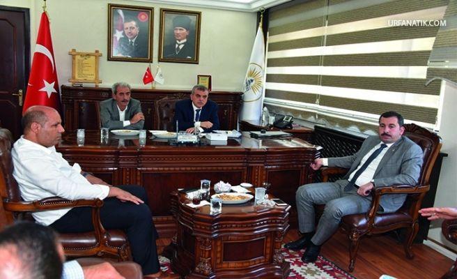 Başkan Beyazgül ve Baydilli'den Siverek'e Ziyaret