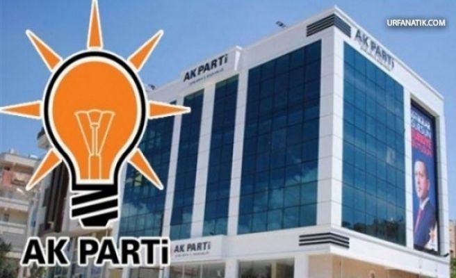 AK Parti Şanlıurfa Teşkilatında Flaş İstifa