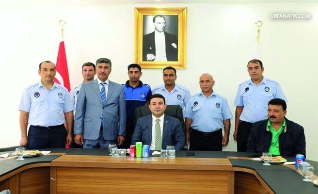 Harran Belediyesi'nde Zabıta Haftası Kutlandı
