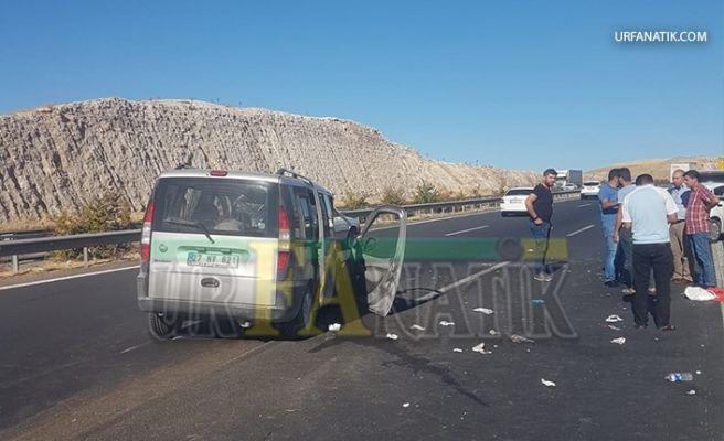 Şanlıurfa'da Trafik Kazası: 2'si Ağır 4 Yaralı