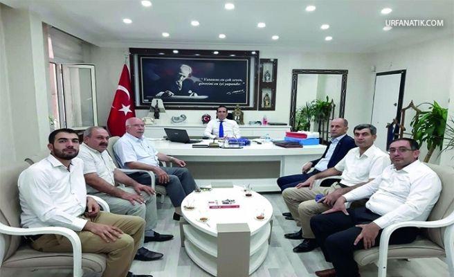 Başkan Yavuz'dan Kaymakam Aktaş'a Hayırlı Olsun Ziyareti