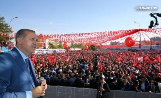 Cumhurbaşkanı Erdoğan Şanlıurfa'ya Geliyor (GÜNCELLENDİ)