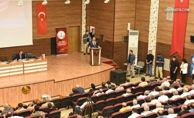 Urfa'da Okul Güvenliği Toplantısı Büyük Katılımla Yapıldı