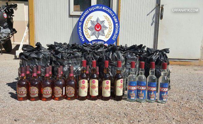 Urfa'da 'sahte içki' operasyonu! 1 kişi yakalandı