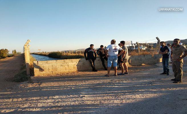 Şanlıurfa'da Sulama Kanalında Kaybolan Gencin Cesedi Bulundu