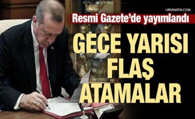 Erdoğan'ın İmzasıyla Yayımlandı! Flaş Atama Kararı!