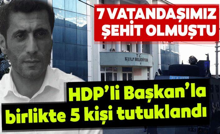 Belediye Başkanı Dâhil 5 Kişi Tutuklandı