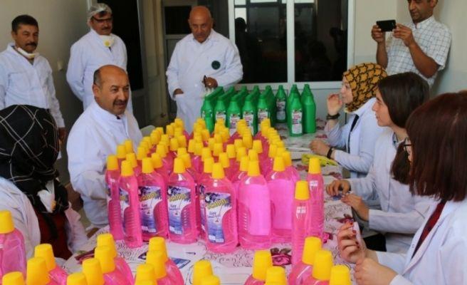 Kütahya Necmettin Erbakan MTAL, Türkiye'de ilk defa marketlere ürün veren okul oldu