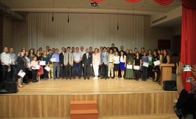 Robotik Kodlama eğitiminin sertifika töreni düzenlendi