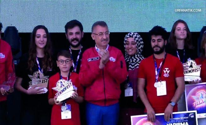 Harran Üniversitesi Teknofest'ten Ödülle Döndü