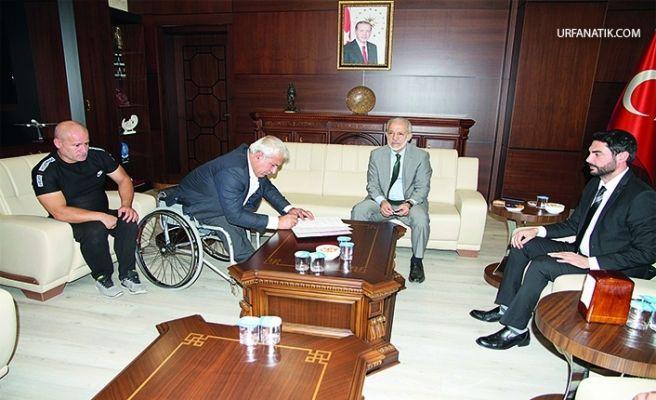 HRÜ'den Engelliler Spor Kulübüne Anlamlı Destek