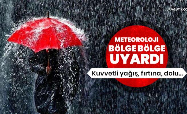 Meteoroloji Bölge Bölge Uyardı! Sağanak Geliyor