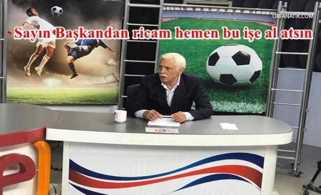 Cevheri'den Flaş Urfaspor Açıklaması