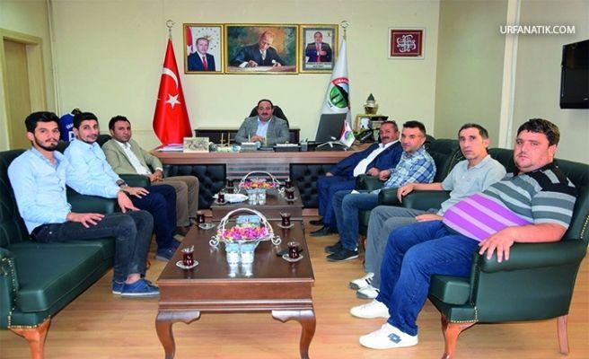 Viranşehir Belediyesinden Amatör Kulüplere Akaryakıt Desteği