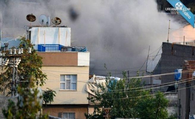 Kamışlı'dan Nusaybin'e 6 roket atıldı