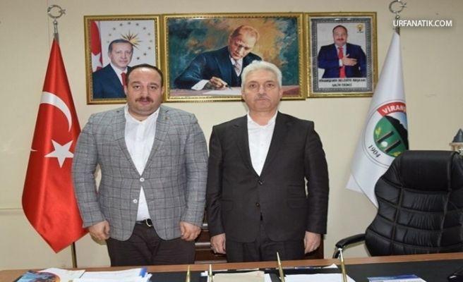 Bakan Yardımcısı Koca'dan Viranşehir Belediyesine Ziyaret