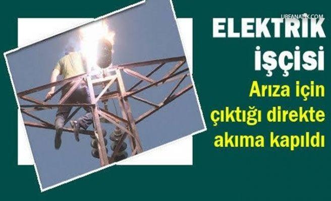 Urfa'da Elektrik Akımına Kapılan Şahıs Ağır Yaralandı