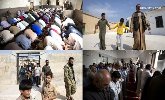 Tel Abyad'da 4 Yıl Sonra Coşkuyla Kılınan İlk Cuma Namazı!
