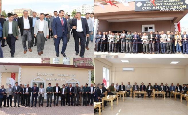 Karaköprü'de Dört Gözle Beklenen Salon açıldı