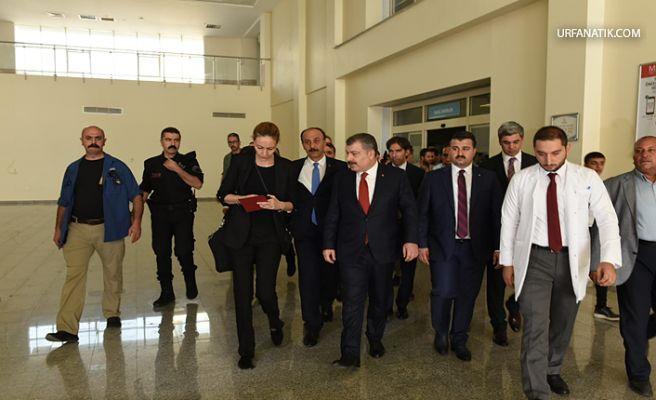 Sağlık Bakanı Koca Akçakale'de