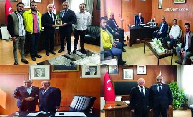 Başkan Bayık, KKTC Başbakanı Tatar'ı Ziyaret Etti
