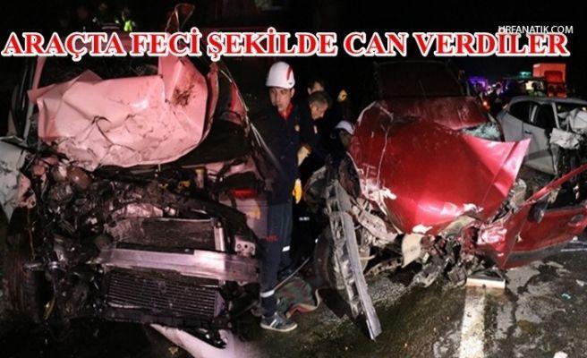 Feci Zincirleme Kaza:3 ölü, 2 yaralı