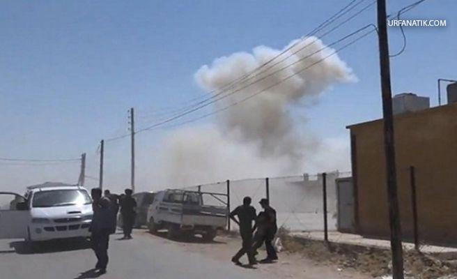 Akçakale'nin Karşısındaki Tel Abyat'ta Bombalı Saldırı!