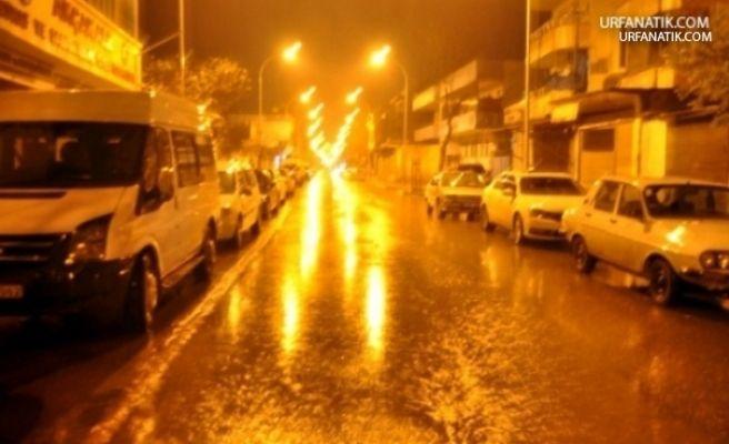 Şanlıurfa'da Gece Boyunca Rahmet Yağdı