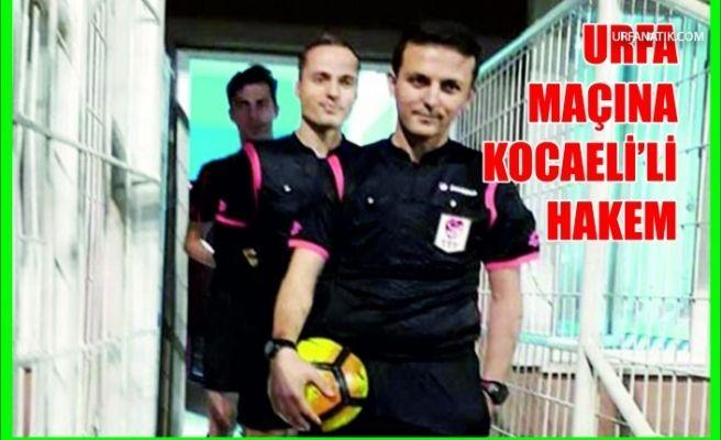 """Şanlıurfaspor Maçını """"Tuzcu"""" Yönetecek"""