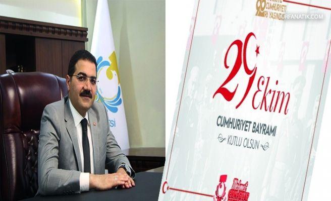 Başkan Mehmet Canpolat'tan 29 Ekim Mesajı