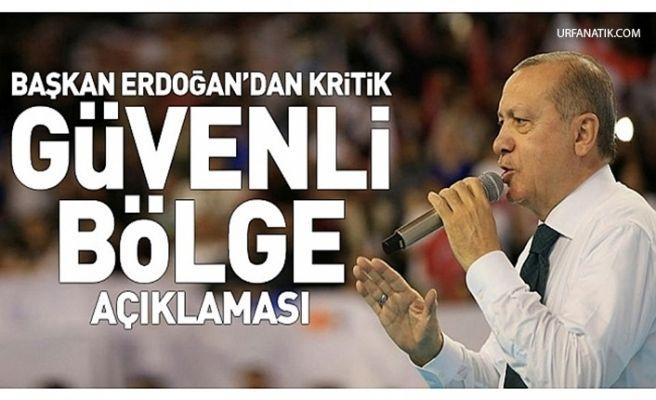 Başkan Erdoğan'dan Urfa Ve Güvenli Bölge Açıklaması