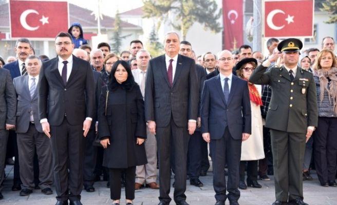 Atatürk vefatının 81'inci yılında törenlerle anıldı