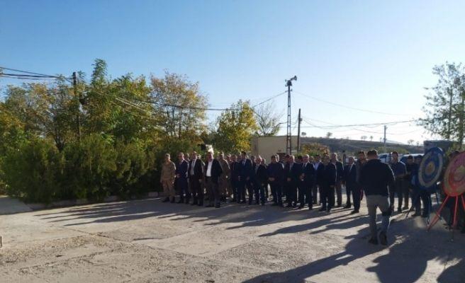 Dicle'de Atatürk'ü anma programı