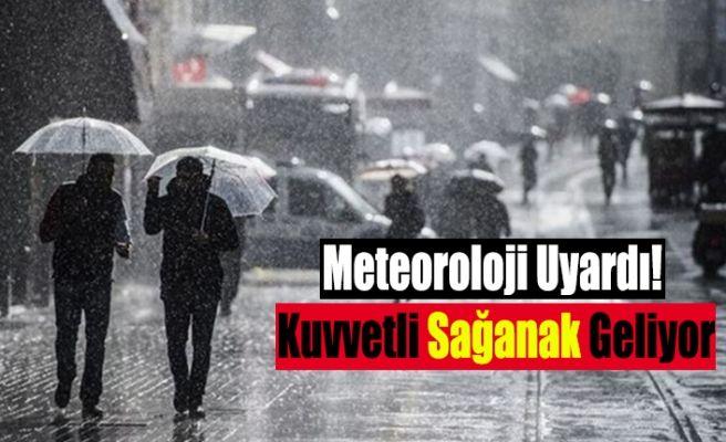 Meteoroloji Uyardı! Yurdun Büyük Bölümünde Bugün Yağış Var