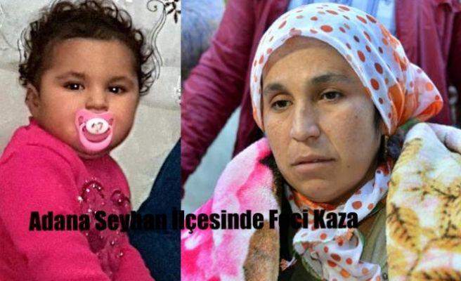 Adana Seyhan İlçesinde Feci Kaza.