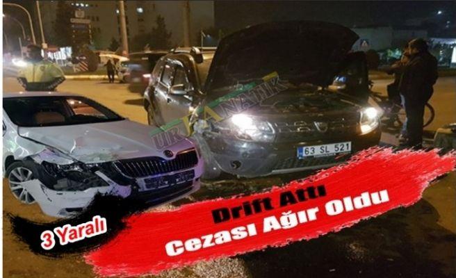Haliliye'de Otomobil Drift Attı, Cezası Ağır Oldu