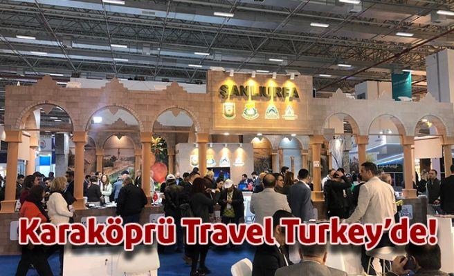 Karaköprü Belediyesi Travel Turkey Fuarında