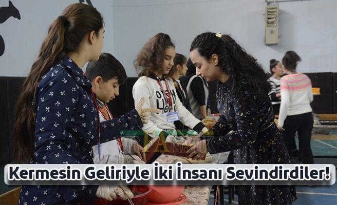 Ortaokul Öğrencilerinden Engelliler İçin Kermes