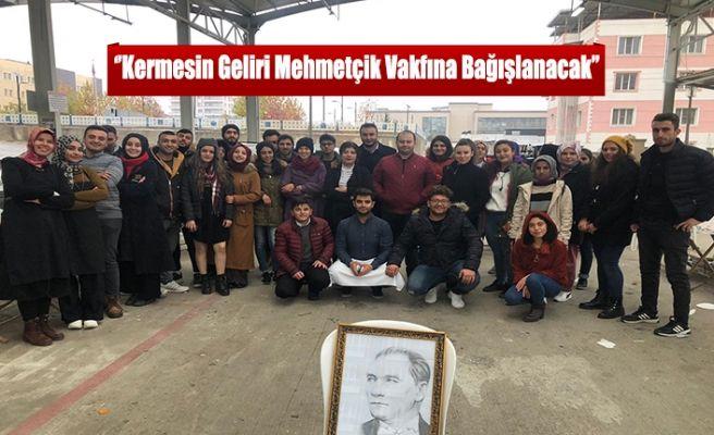 ''Kermese Geliri Mehmetçik Vakfına Bağışlanacak''