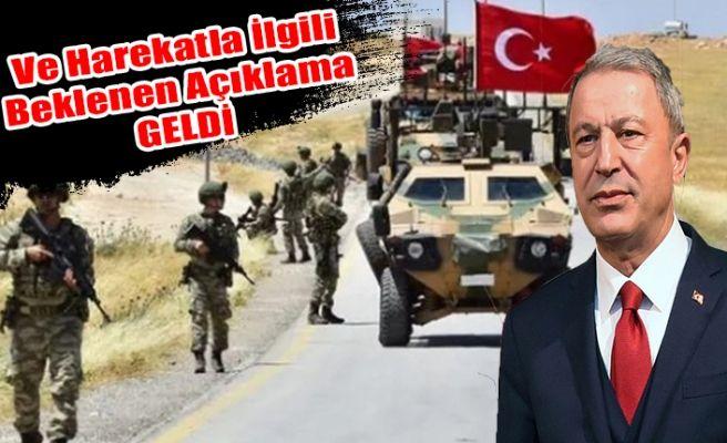 """Bakan Akar'dan Flaş """"Barış Pınarı"""" Harekatı Açıklaması"""