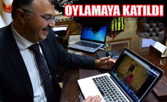 """Başsavcısı Öztoprak'ta """"Yılın Fotoğrafları"""" Oylamasına Katıldı"""